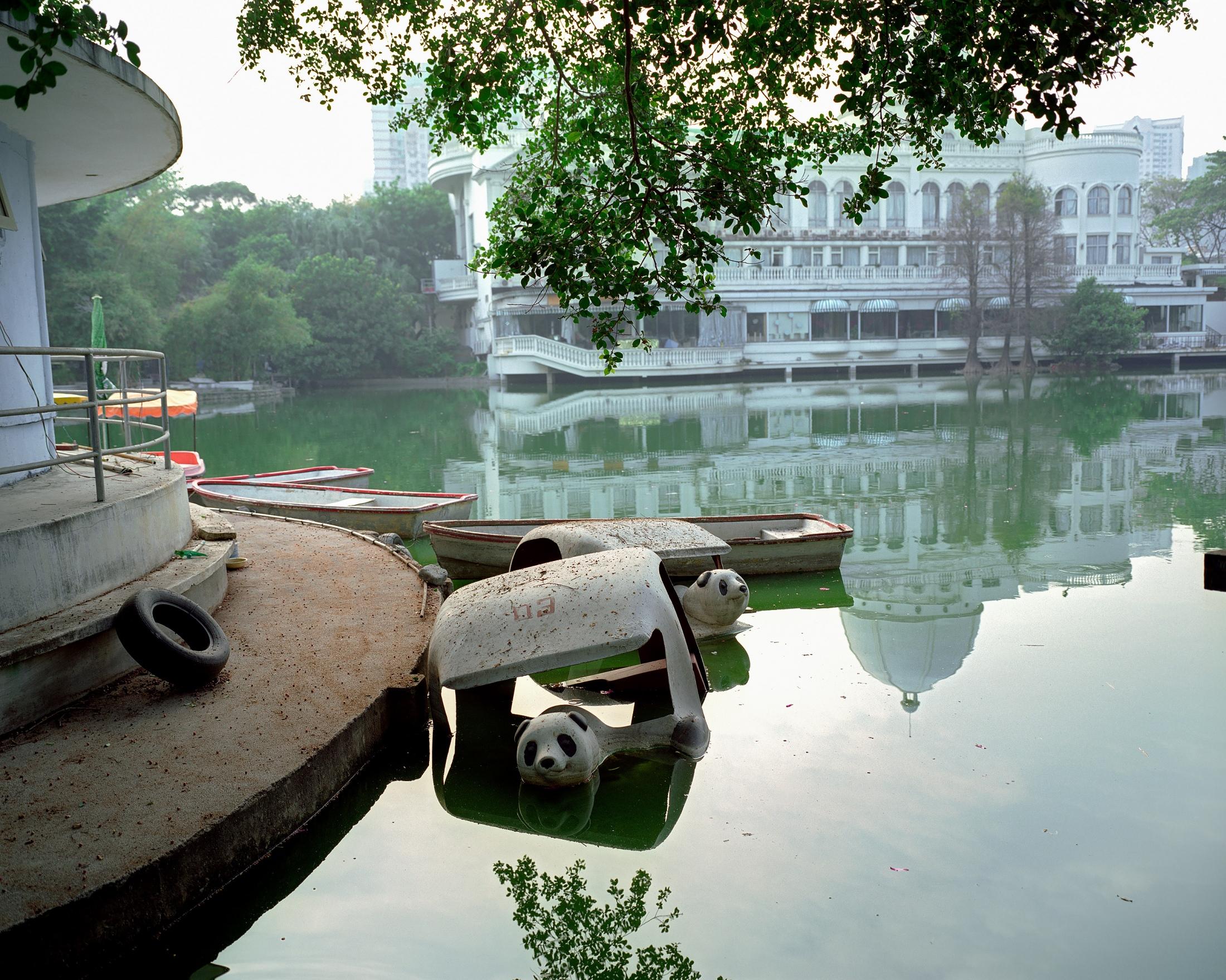 """Shenzhen, 2006 2006 Archival Pigment Inkjet Print  30"""" x 37.5"""""""