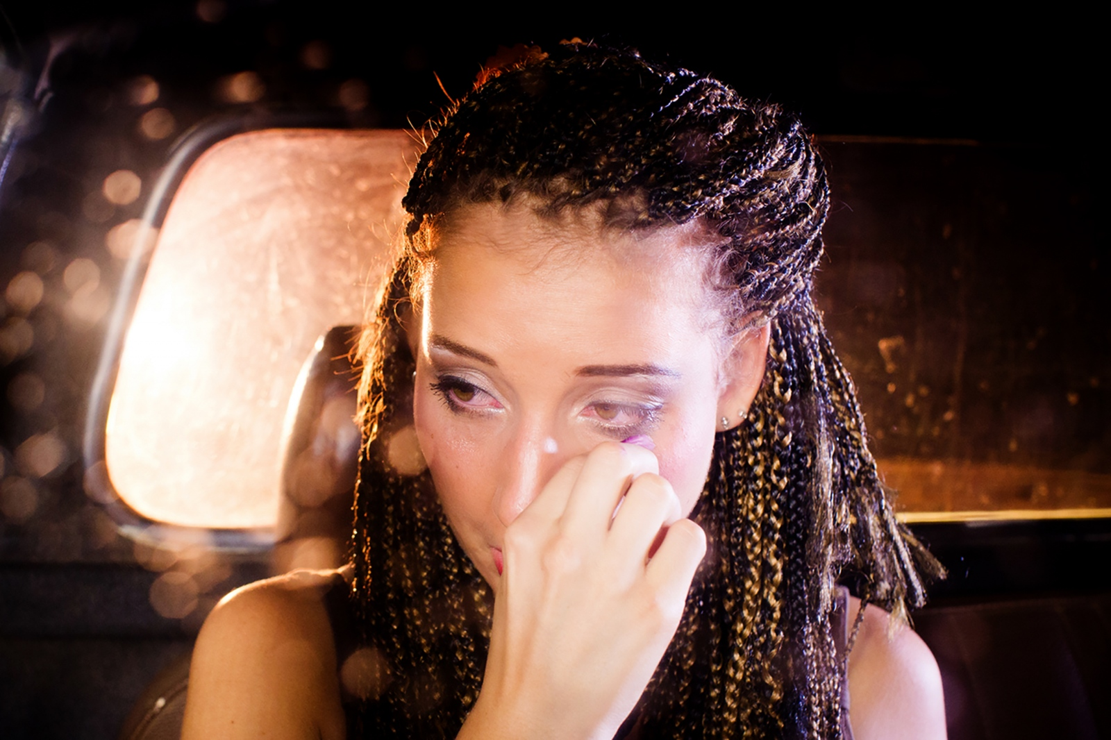 Schlagzeugerin Anika Nilles in Mannheim.