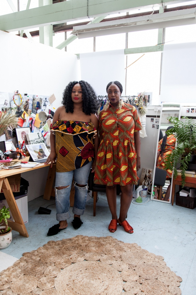 Collective Closets, a fashion label based in Melbourne, are two sisters, born in Africa and raised in Melbourne.