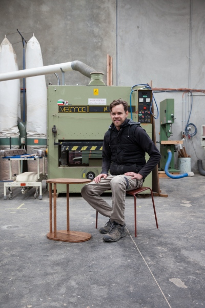 Dan de Groot, Tuckbox Furniture Design for Smith Journal.