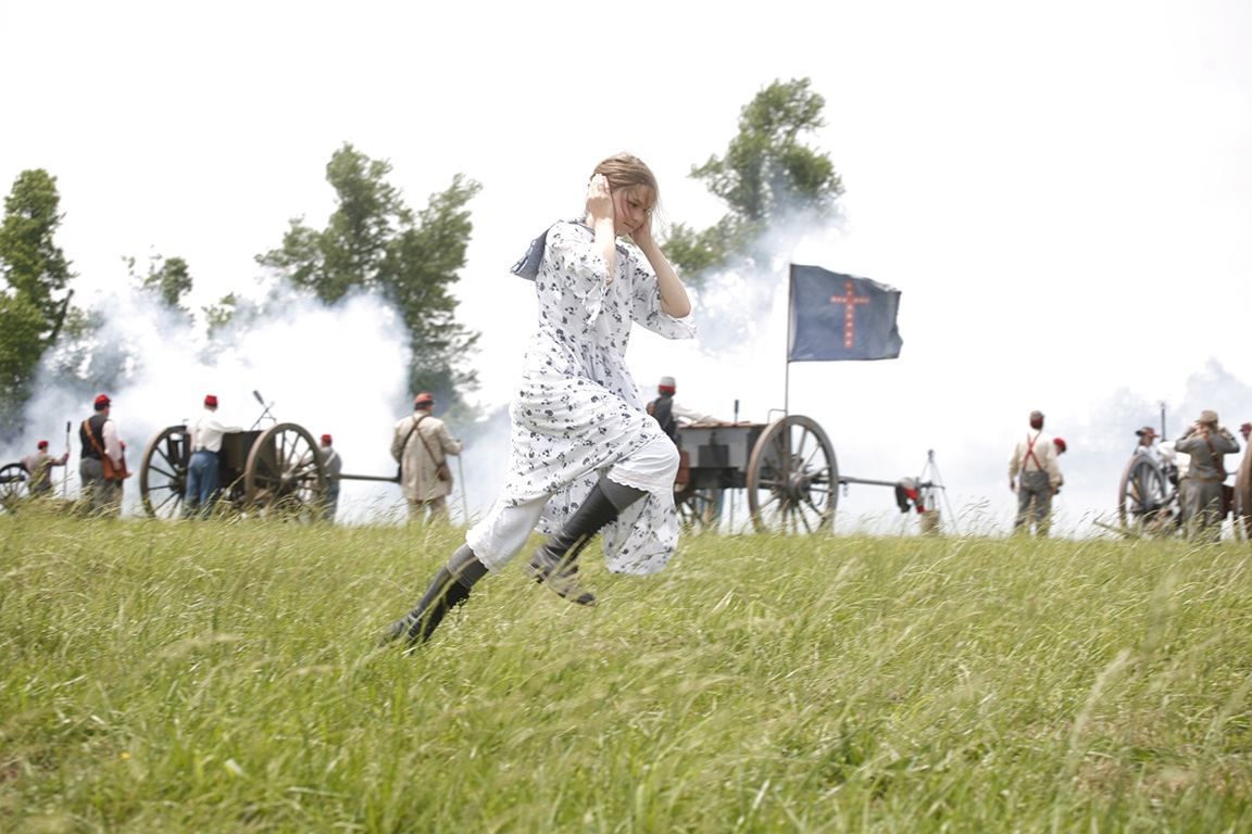LOST CAUSE It's said that American Southerners are the only people to celebrate a war they lost. Hundreds of Civil War re-enactors converge in McLean County, Ky., to re-enact the Battle of Sacramento, won by the Confederate Colonel Nathan Forrest.