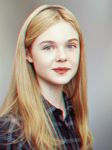 ELLE FANNING - Actress