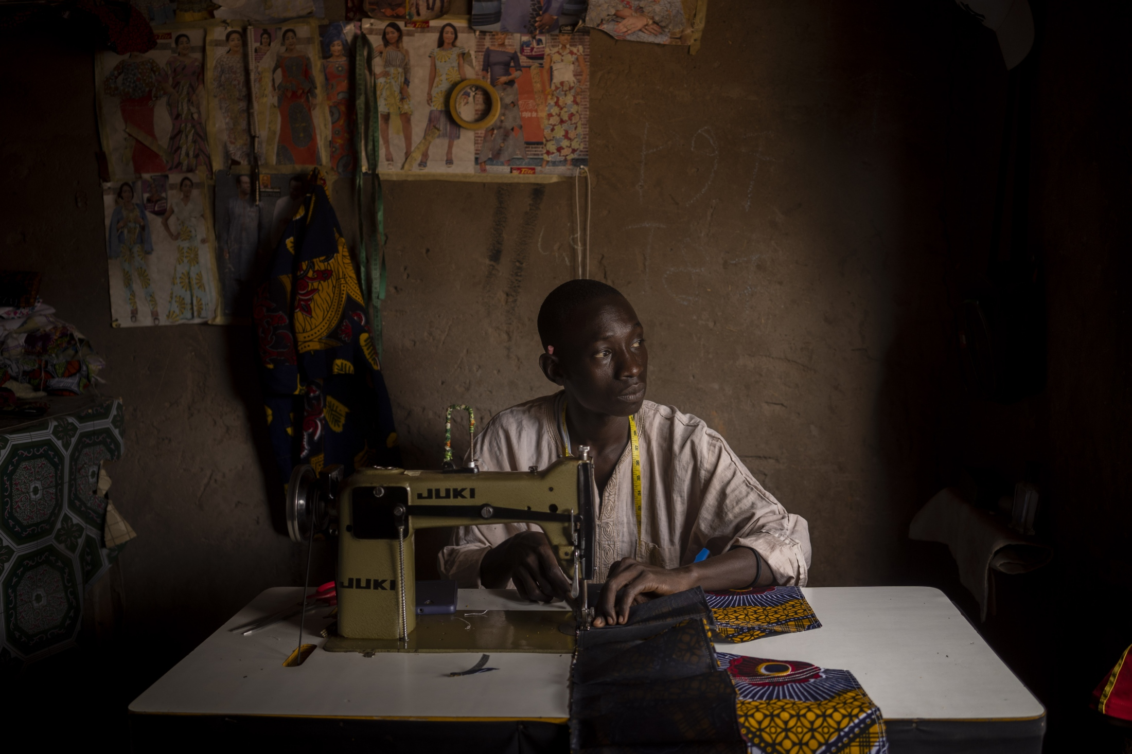 The tailor. Senegal, 2018