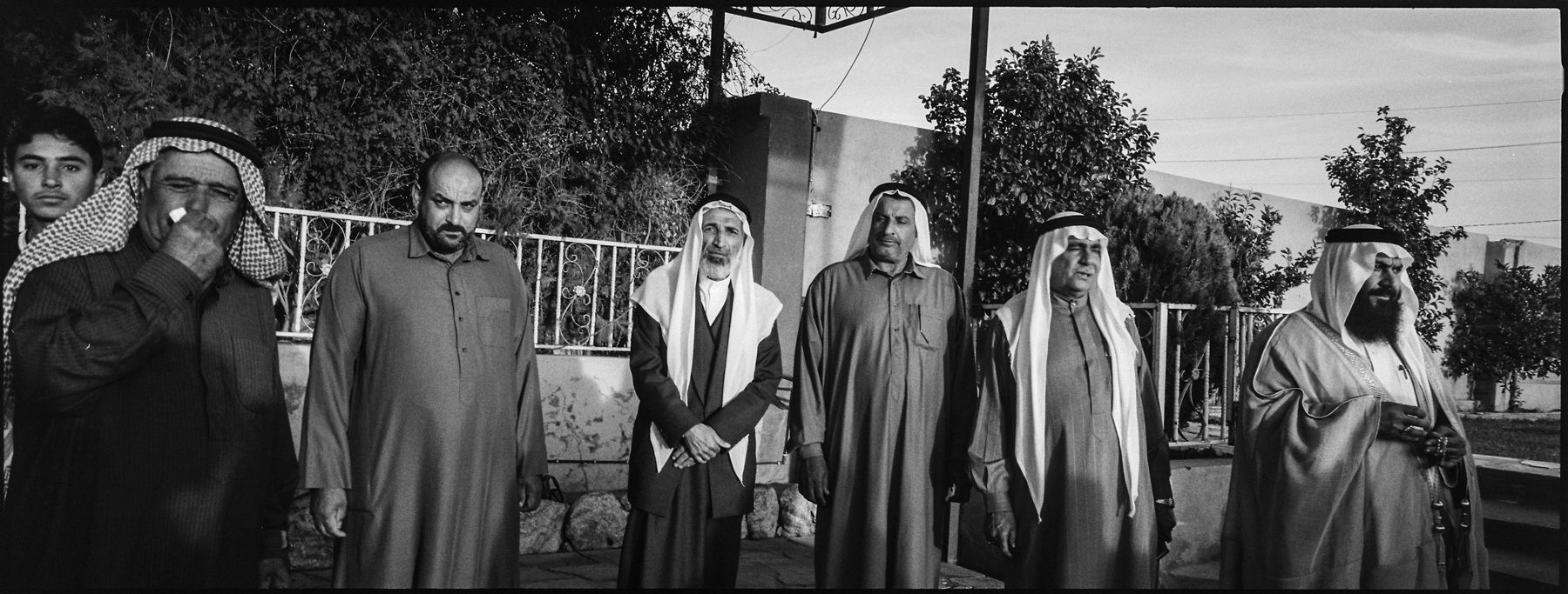 Sunni Tribal Leaders. Mosul, 2017.
