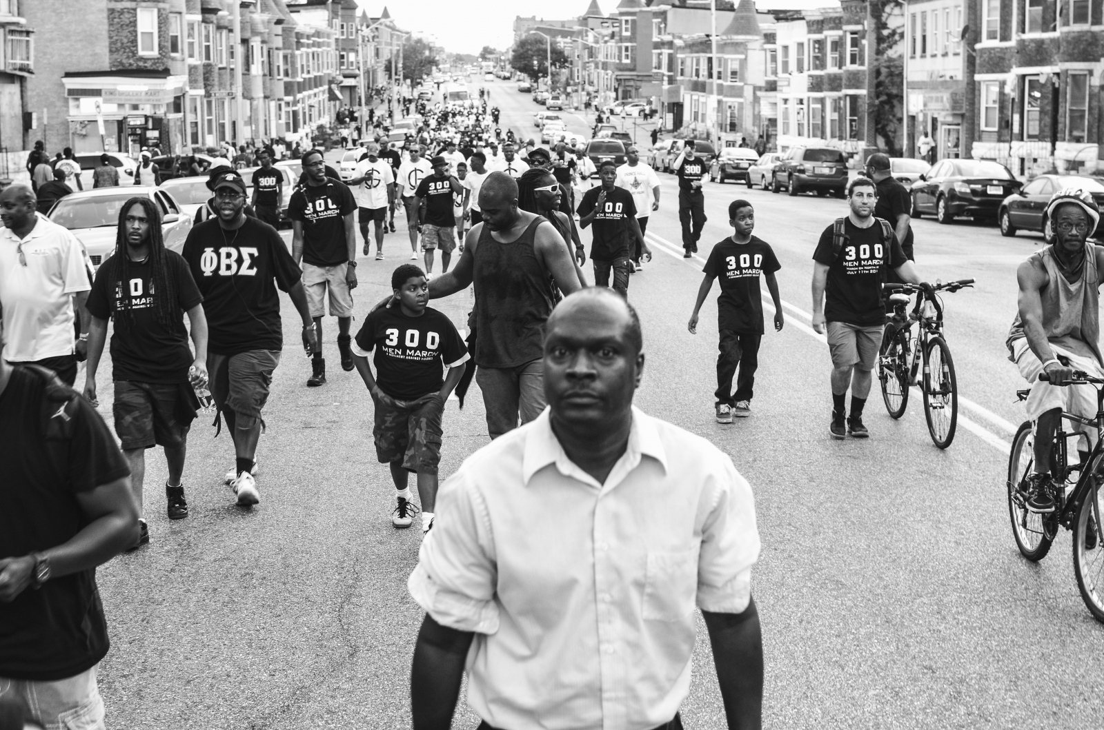 In response to the spike in homicides in 2013, Baltimore City Councilman Brandon Scott and activist Munir Bahar organized the 300 Man March, which encouraged men of all ages to walk at night through some of Baltimore's most violent neighborhoods.
