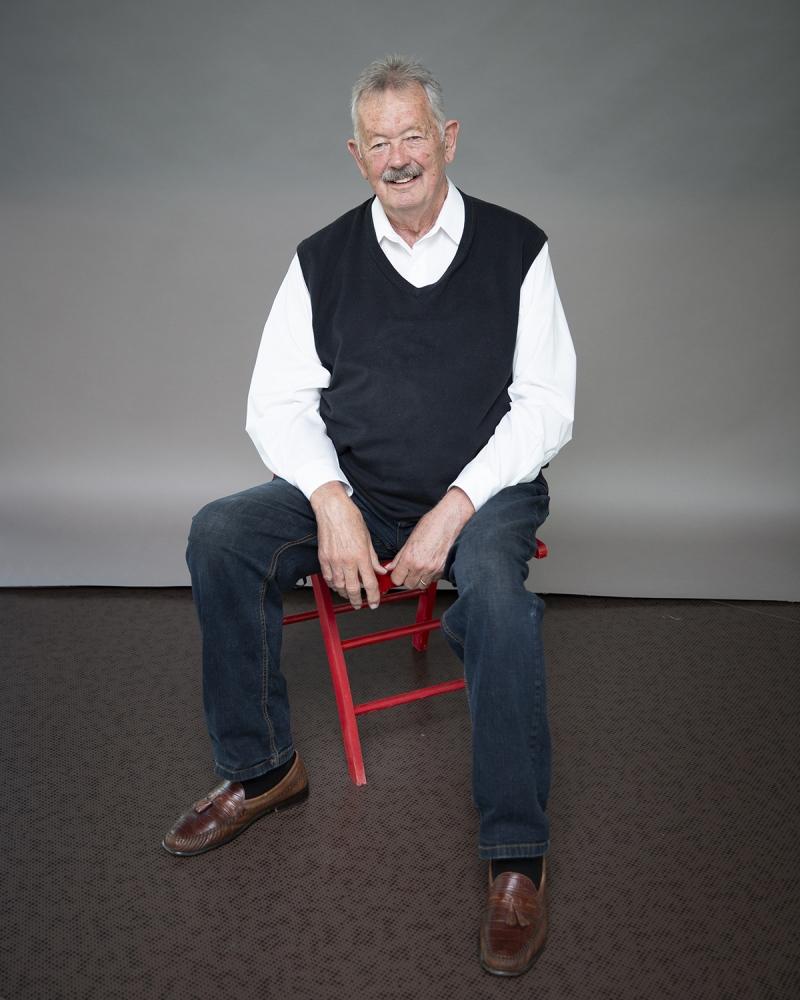 Il co-fondatore di Apple, Jay Elliot, alle Officine Garibaldi di Pisa.