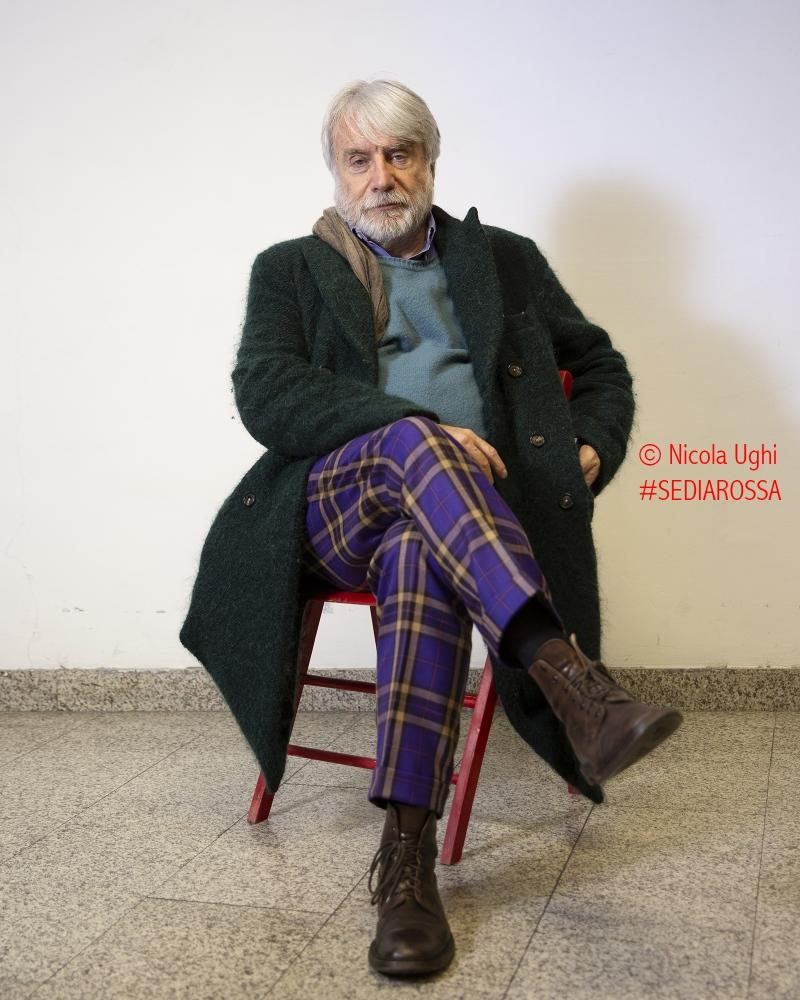 lo psichiatra e scrittore, Paolo Crepet, fotografato al Palazzo dei Congressi di Pisa.