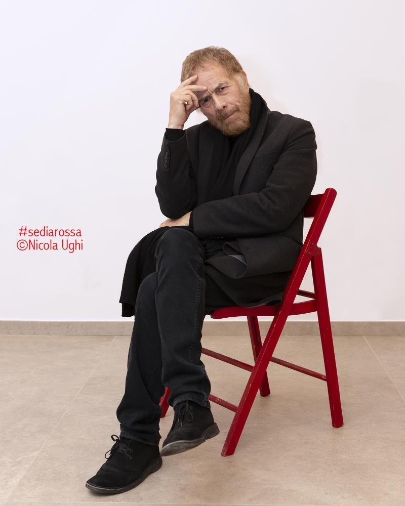 """l'attore e regista Gabriele Lavia, in occasione della rassegna """"potrebbe andare Peccioli""""."""