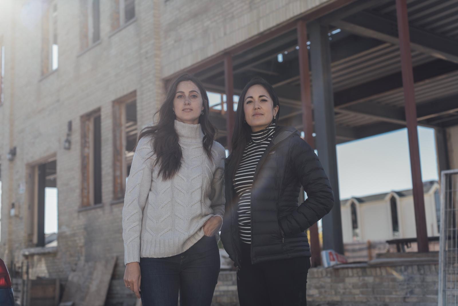 Mallorie Brodie & Lauren Lake. Waterloo, Ontario. 2018