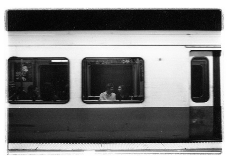 Art and Documentary Photography - Loading train_couple_large.jpg