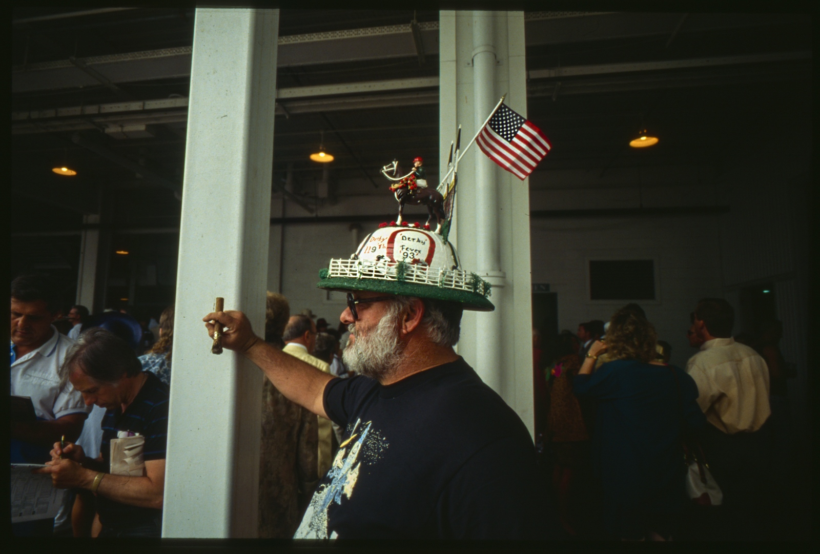 Working class hats, Kentucky Derby, Louisville, Kentucky, USA.1993.