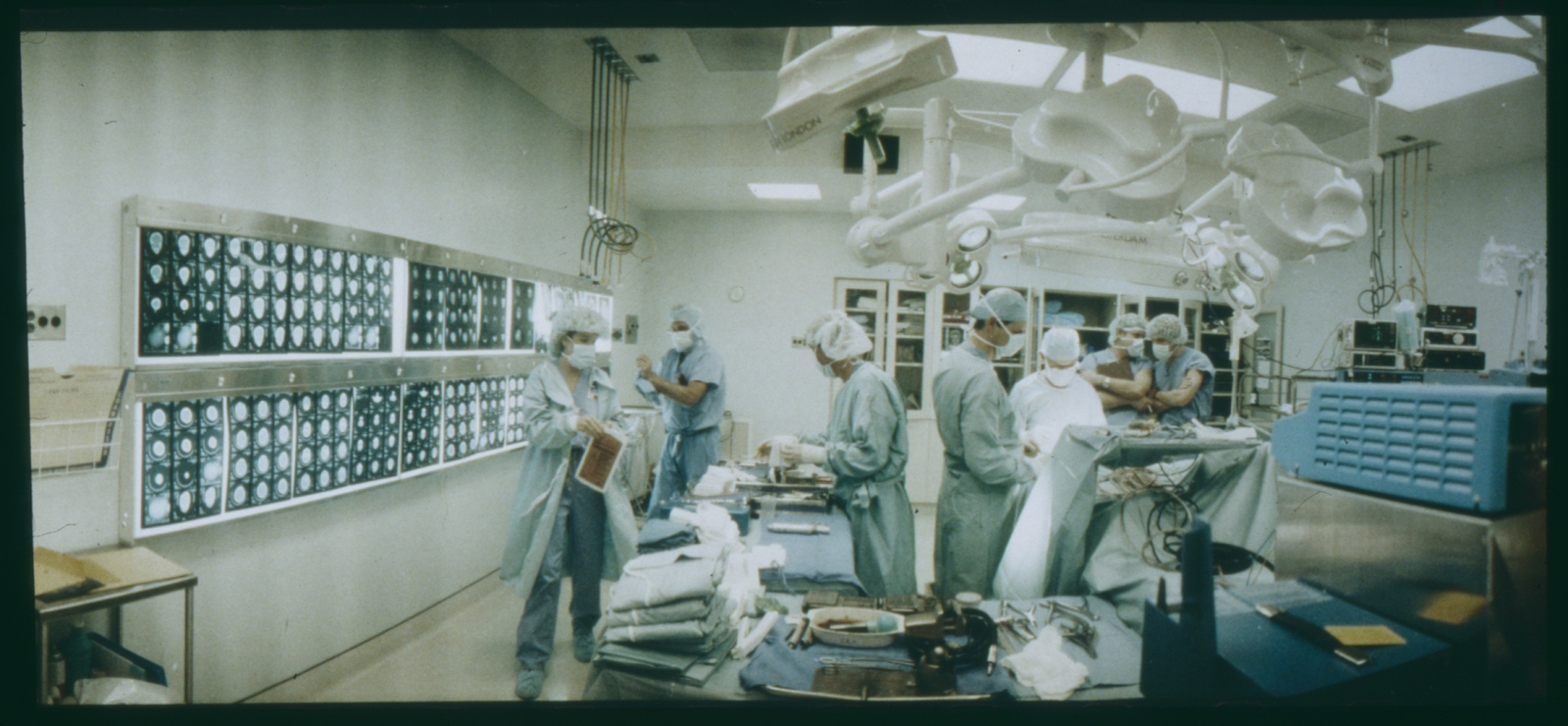 Two teams of surgeons and a ten-hour marathon operation.