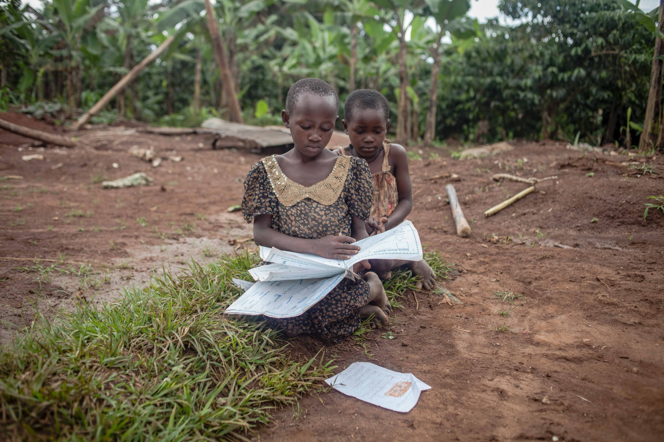Many children in rural areas miss out on finishing their homework because of an absence of a safe light source in the house. Access to clean energy is very much needed in many areas of rural Uganda. For Let There Be Light International.