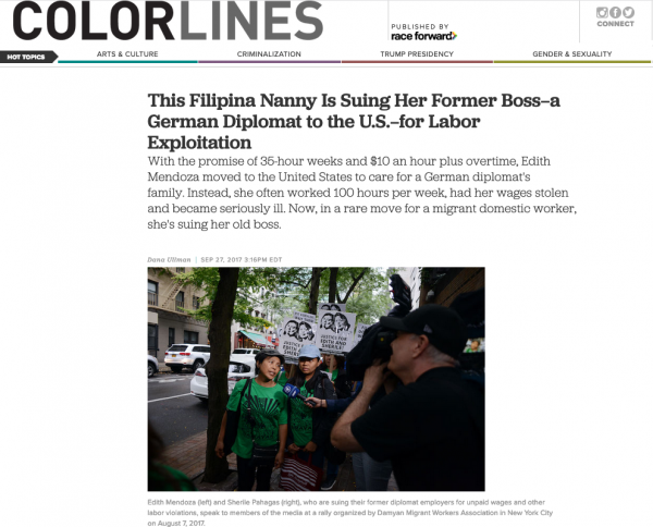 Photo + Text for Colorlines