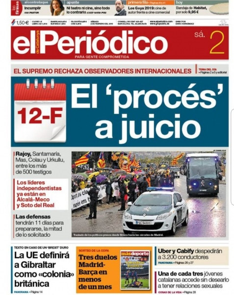 Front Page elPeriódico