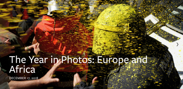 AP The Year in Photos Europe and Africa