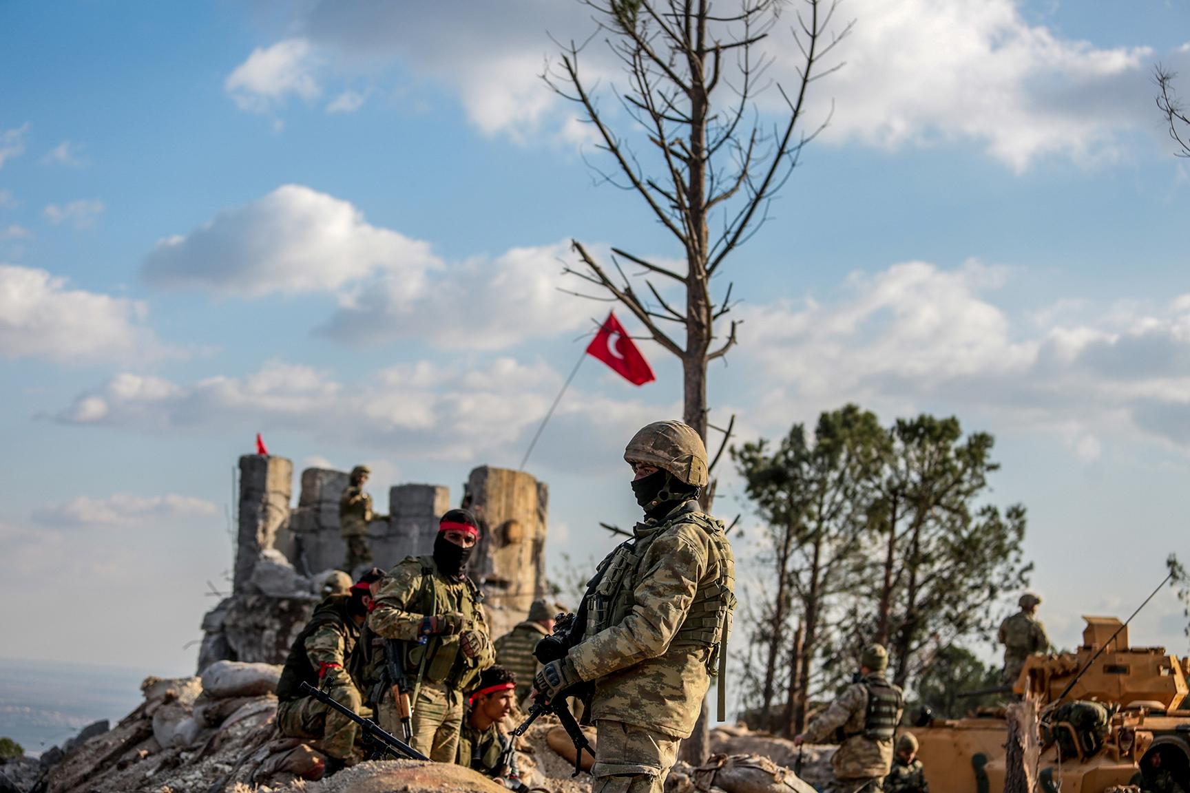 Afrin, Suriye. 2018