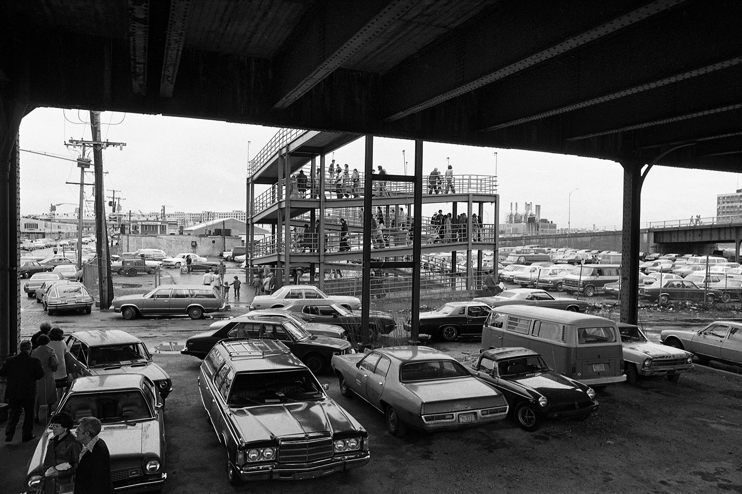 Photography image - Loading _Flower_Show_Parking_Boston_1976_B.jpg