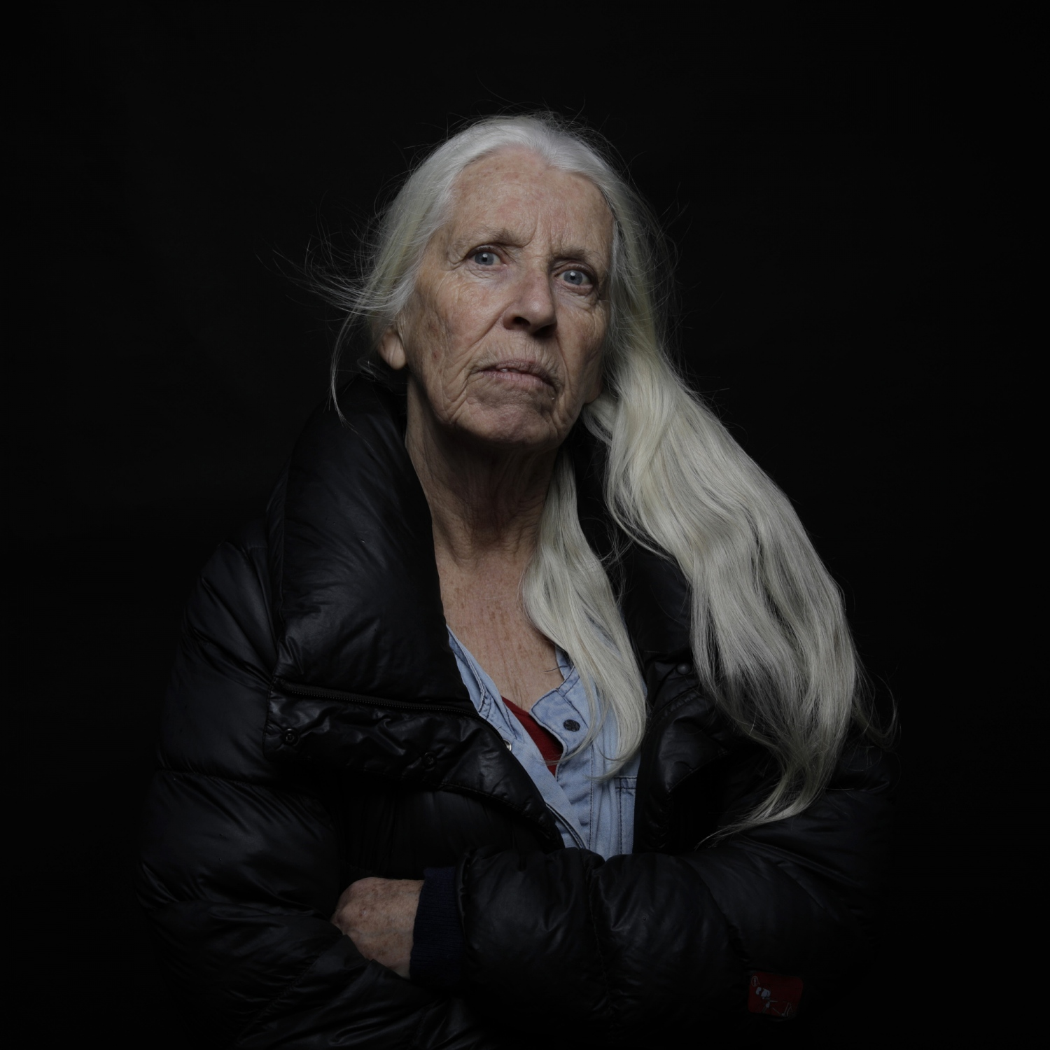 "Jenny, 70, photographer ""Who knows how Brexit will affect me? Nobody knows. It's shocking, depressing, really stepping to the unknown. I was really proud of being European and we've got away from such a little England complex where people want to pull up the walls and defend the island. For me personally the great thing about being English is our contact with other countries and the fact that I live in multicultural borough which makes for a very rich lifestyle. And I feel that people's fears of what's going to happen means a retreat and many of my friends are talking of leaving. Everyone I know how has a possibility is applying for European passport. I am stuck with the British one."""