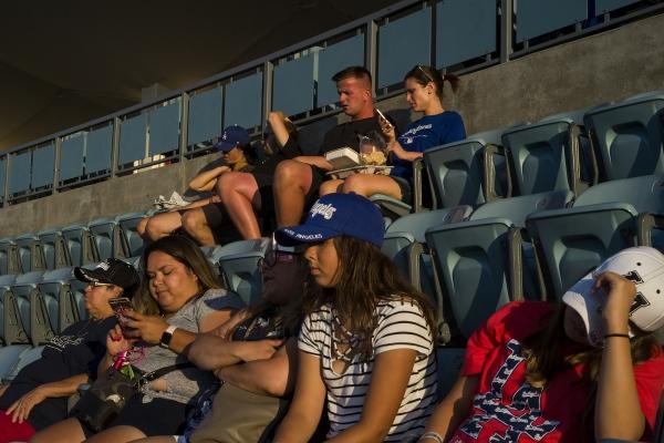 Dodger Stadium. Los Angeles (California). 2018