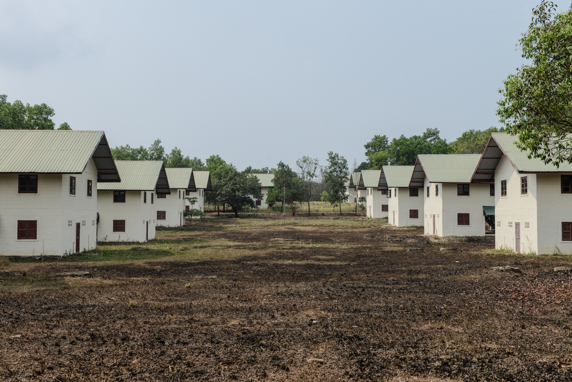 The relocation site at Bawa was built by the Italian-Thai Development Corporation Limited (ITD). Those who were affected by the SEZ land acquisition are allowed to settle in this resettlement community but these induced resettlements have negative impacts on their livelihood activities and also capabilities of communities.