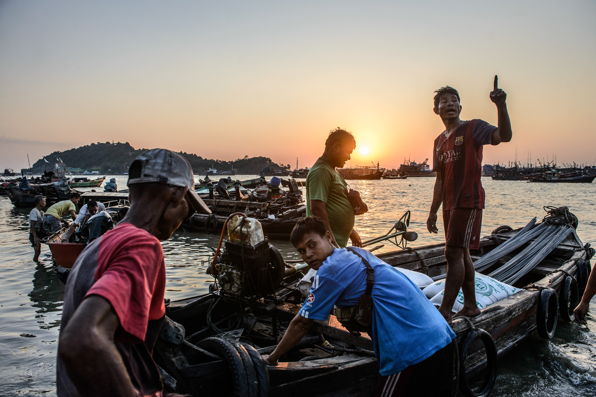 In Myeik, investors and business companies apply for Burma's Vacant, Fallow and Virgin Land Rights with the purpose of changing beaches and coastal areas into private areas. If succeed, livelihoods of the fishery communities who have already faced with overfishing to satisfy the demands of industrial-scale coastal fishing operators and will not be permissible and will become obsolete to fish from beaches and provide a loss of income at the coastal areas. Consequently, The local fisherman will endure a loss of income and create a hardship for them to make a living.