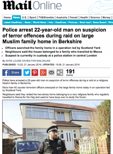 https://www.dailymail.co.uk/news/article-3410340/Police-arrest-22-year-old-man-suspicion-terror-offences-raid-large-Muslim-family-Berkshire.html