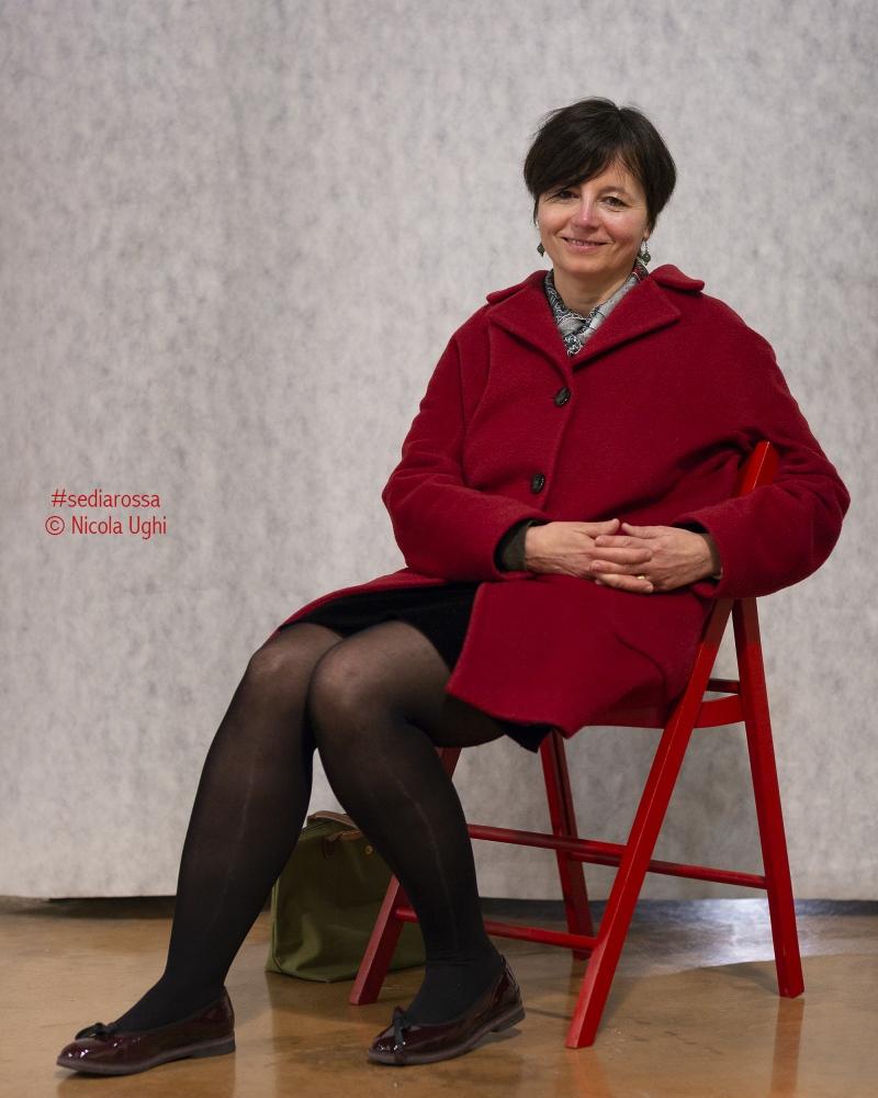 """L'ex ministro dell'Università e dell'Istruzione del governo Letta, Maria Chiara Carrozza, fotografata alla Stazione Leopolda di Pisa in occasione della presentazione del libro di Enrico Letta: """"Ho Imparato""""."""
