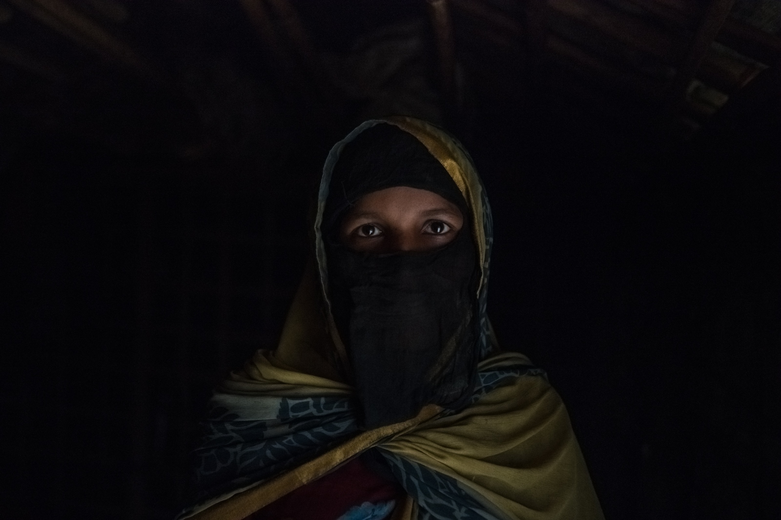 Noor, a Rohingya refugee who may be 18 years old, at most, was gang-raped by soldiers in Myanmar