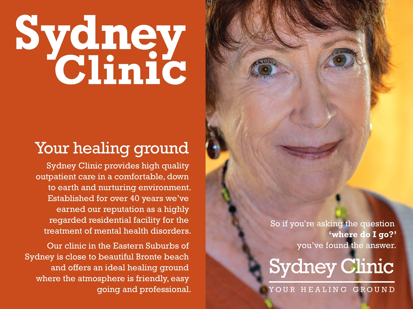 Sydney Clinic campaign