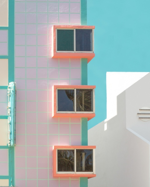 Modern Paradise - Miami, FL - Photography project by Minjin Kang