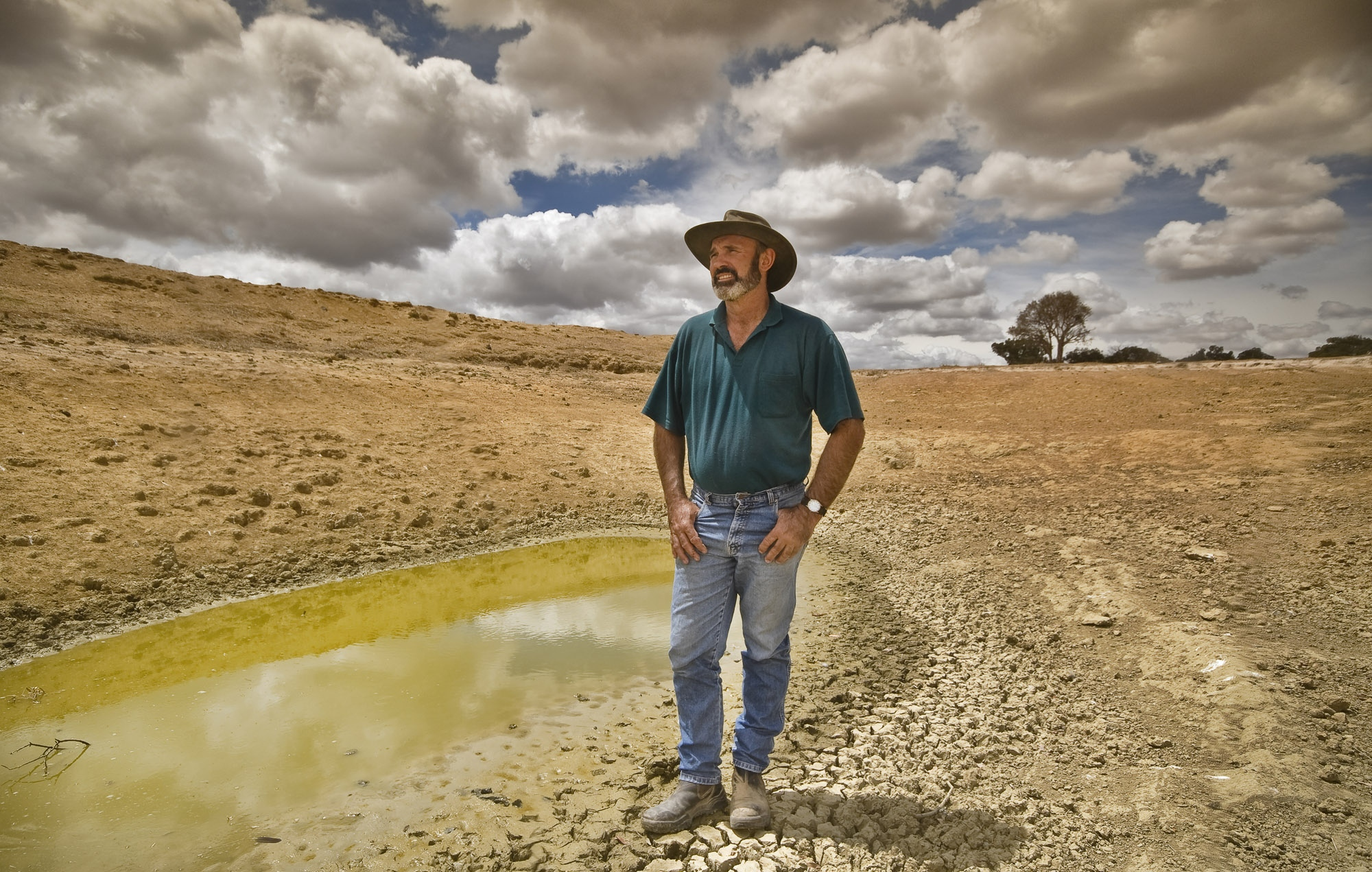 Darrell, drought in Boorowa, NSW