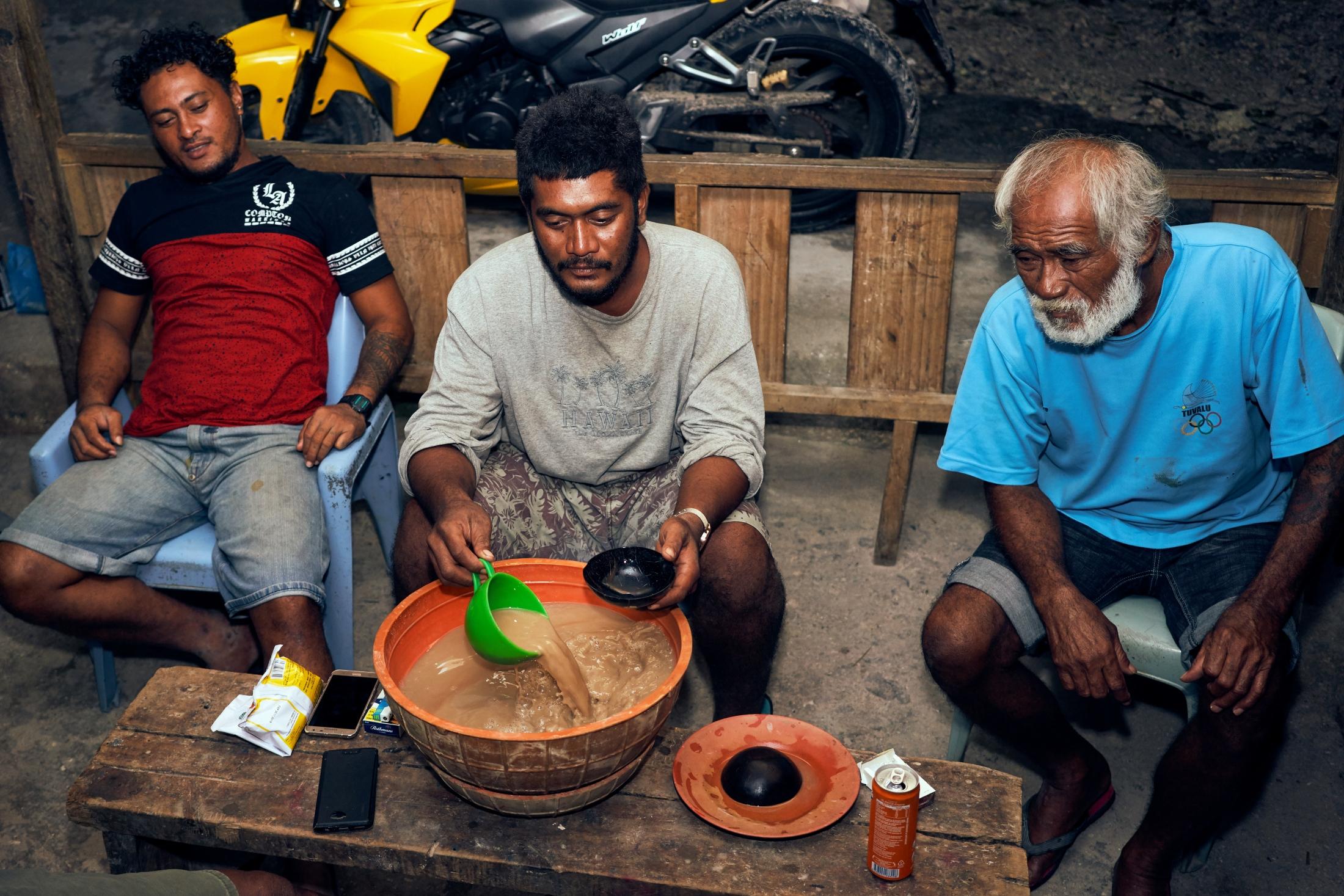 Kava, Tuvalu style.