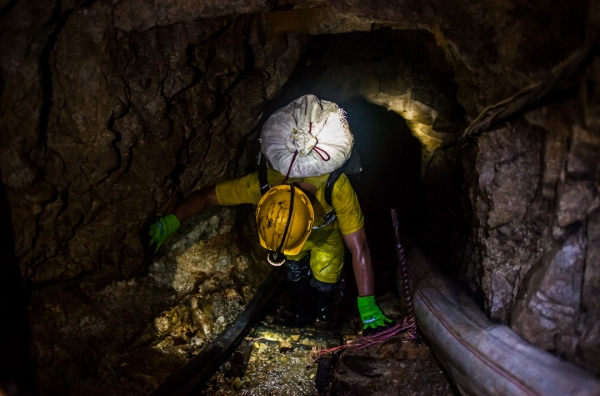 Gold Mining in Colombia