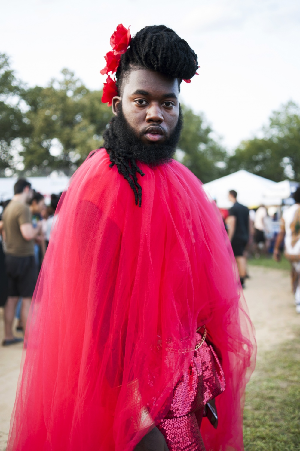 """""""Afropunk means being proud of who I am. Being proud of every piece of me."""" JaQuam Mitchell, 22, St Martinville, La."""
