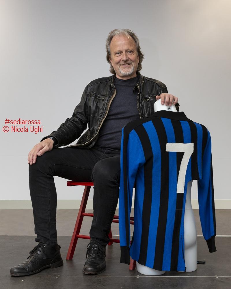 Il calciatore del Pisa e della Roma degli anni '80, il danese Klaus Beerggren