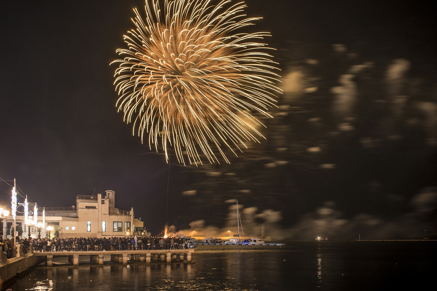 Fireworks for S.Nicola