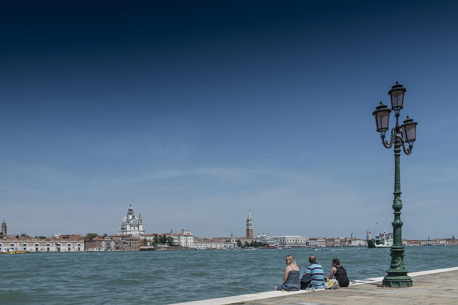 watching Venice from La Giudecca