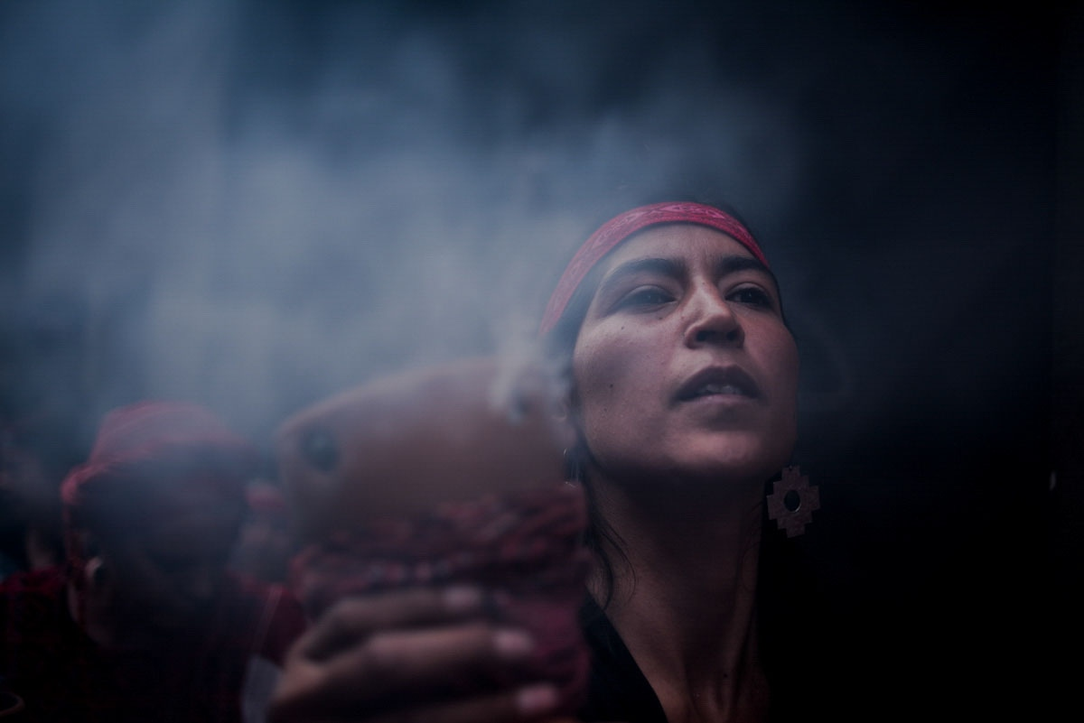 Every November 25, hundreds of people protest to refuse violence against the women    focusing in femicide.     Quito, 2016    Johis Alarcón/ La Barra Espaciadora