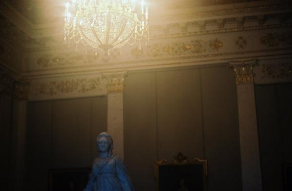 A statue in a museum, St. Petersburg, Russia