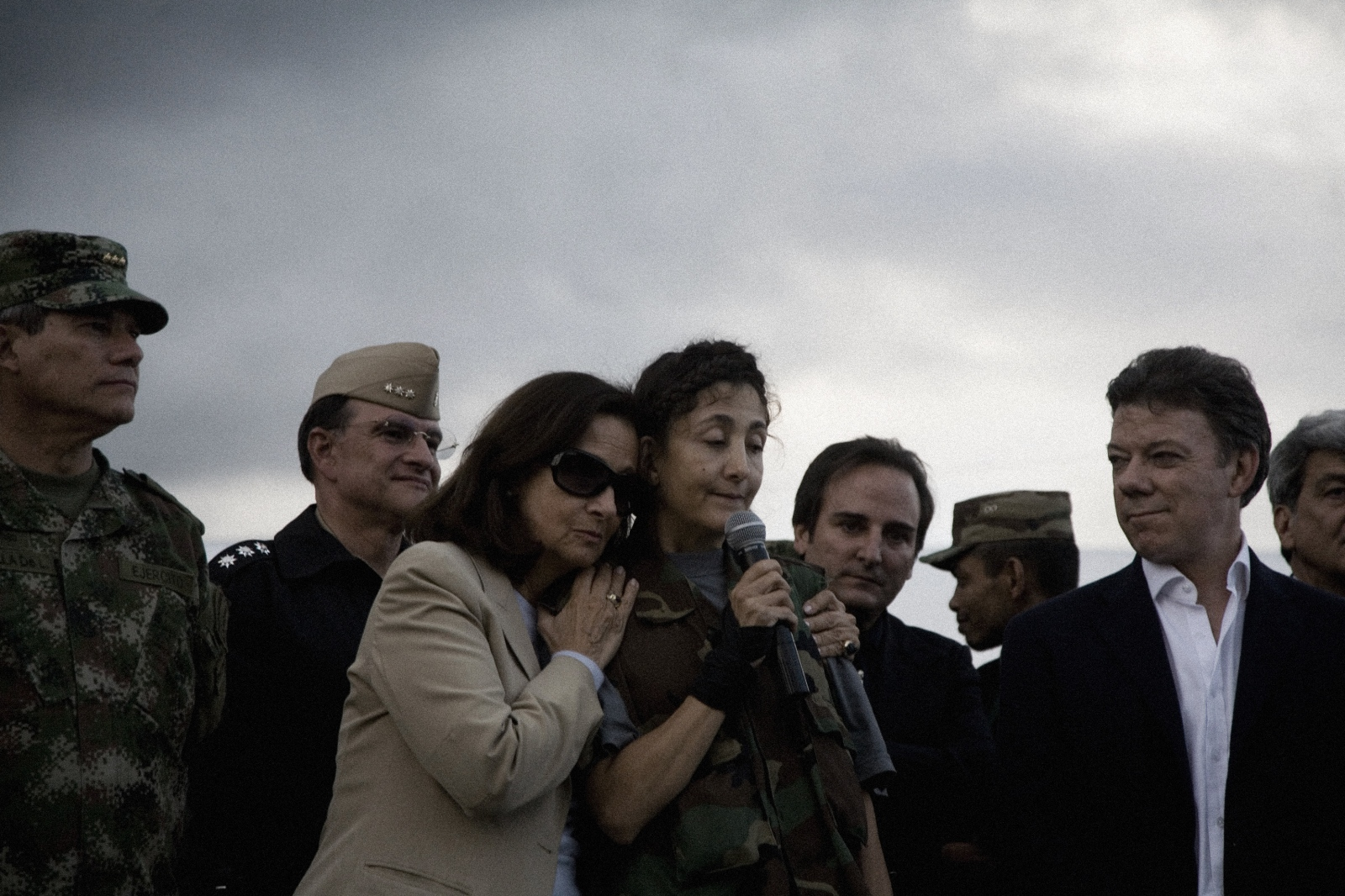 Ingrid Betancourt was kidnapped by the Revolutionary Armed Forces of Colombia (FARC) on 23 February 2002, and was rescued by Colombian security forces six and a half years later in 2008. The rescue operation, was call Operation Jaque, rescued Betancourt along with 14 other hostages (3 United States citizens, and 11 Colombian policemen and soldiers)