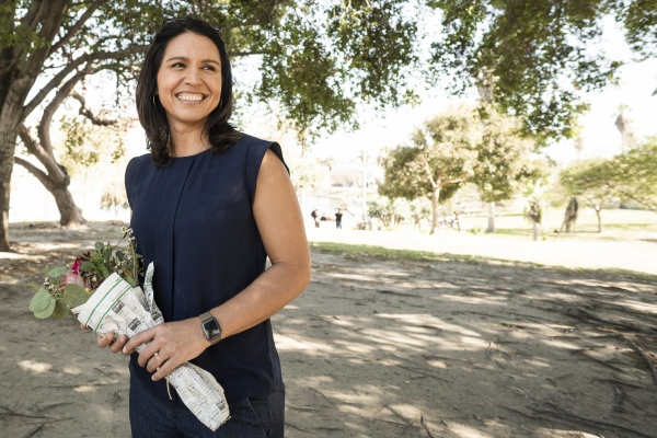 Tulsi Gabbard Earthday Cleanup