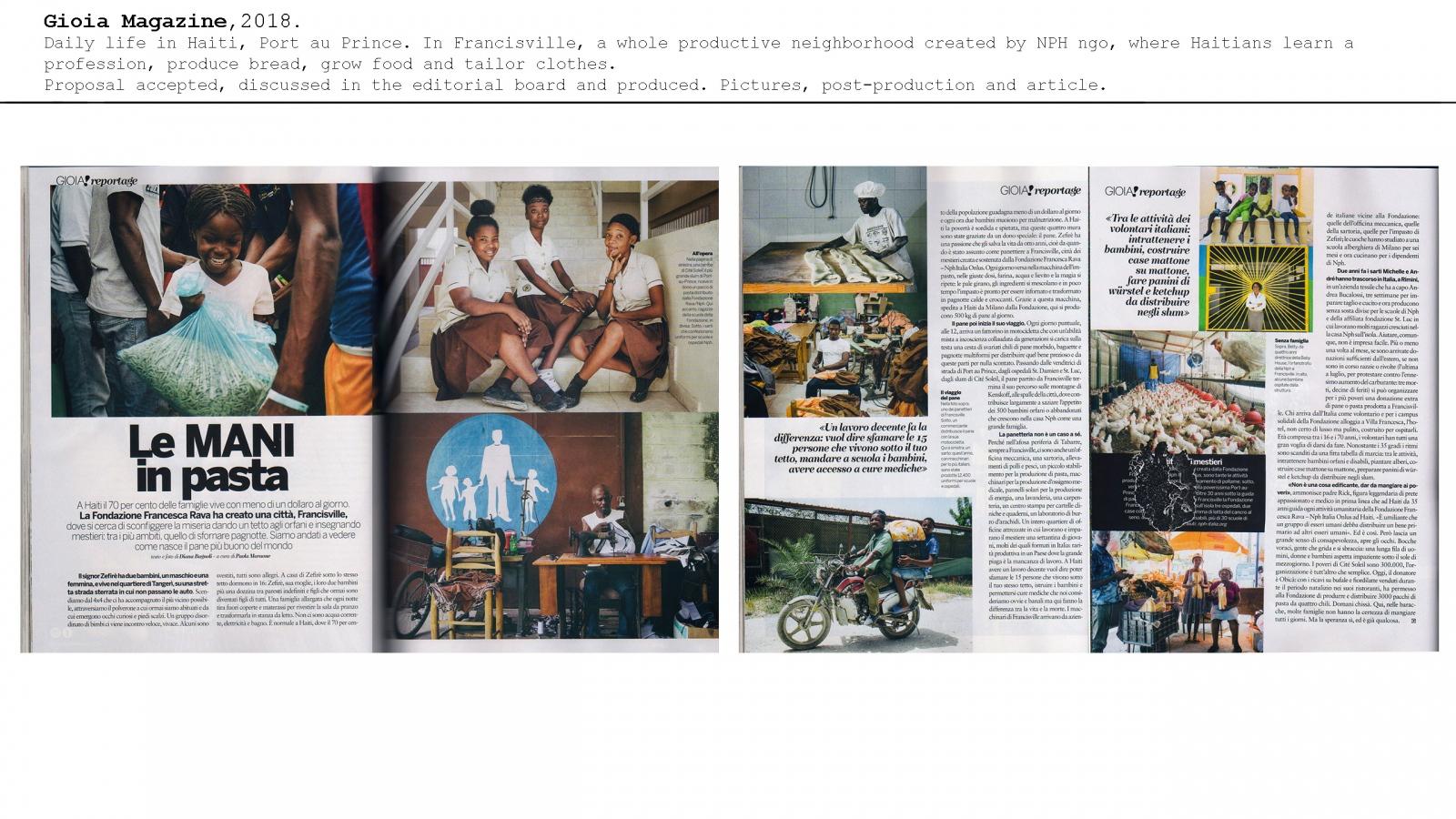 news, tearsheets, magazines, editorials