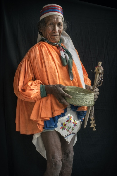 Domenique Renkin, indo canadian medicine man