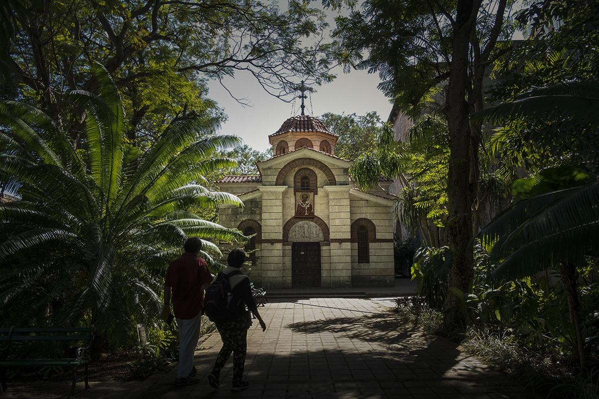The Greek Orthodox Church of Cuba is located near the boardwalk of Havana.