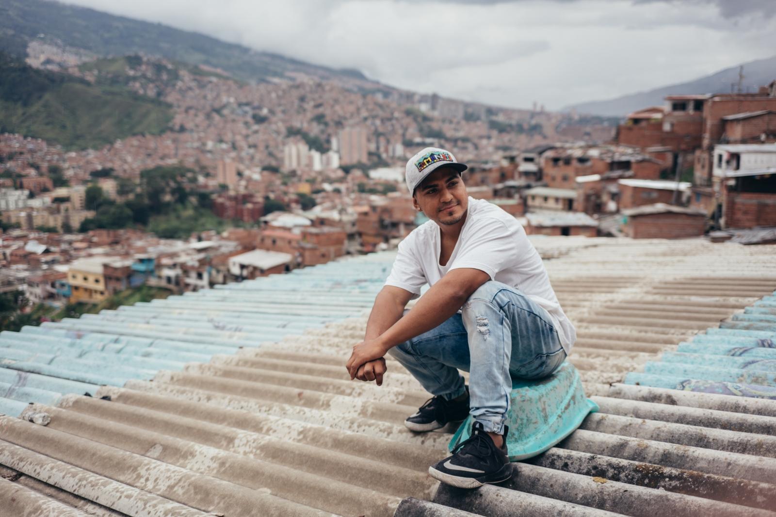 Chotta, Muralista Comuna 13, Medellin 2019
