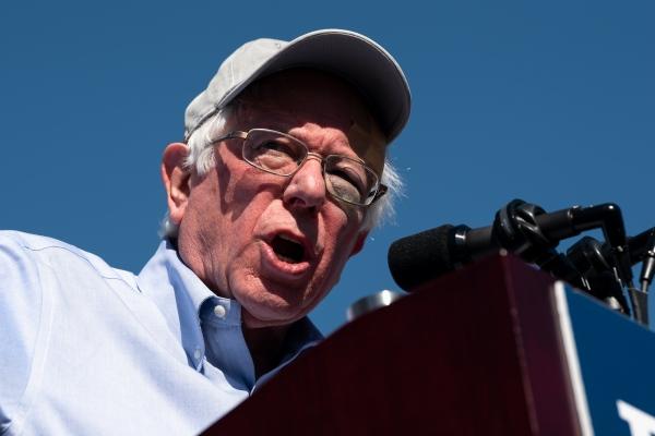 Bernie Sanders Campaign Rally