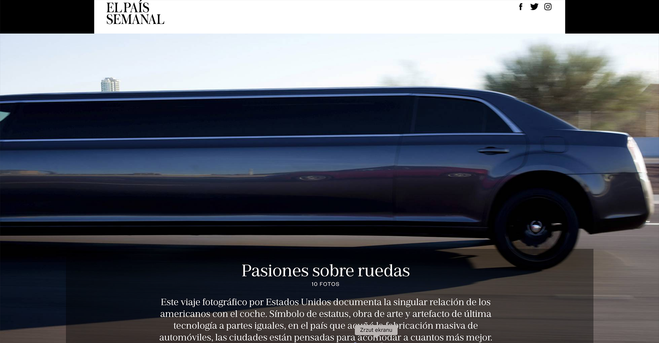 Art and Documentary Photography - Loading 201812__El_Pais_Automobile_America.png