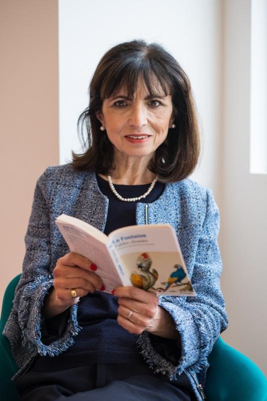 Lila Bidaud, présidente de la Fondation Lire et Comprendre
