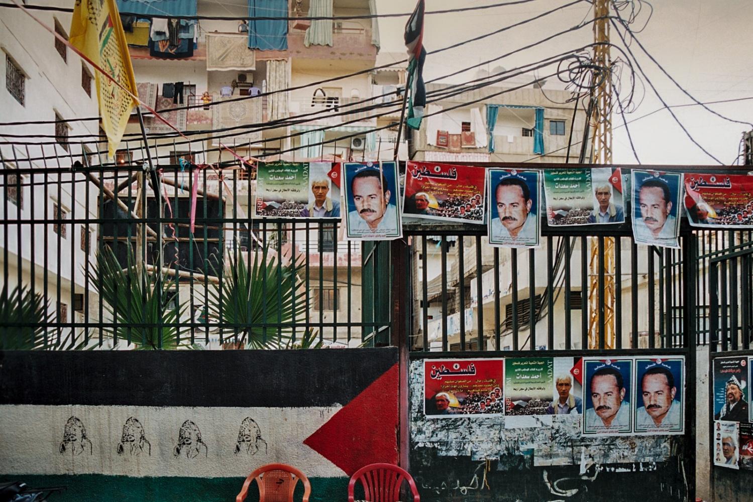 Liban - Beyrouth -  Camp palestinien - 2006.